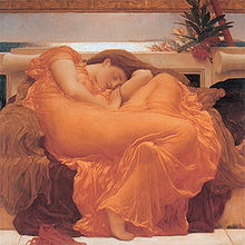 Name:  220px-Flaming_June,_by_Fredrick_Lord_Leighton_(1830-1896).jpg