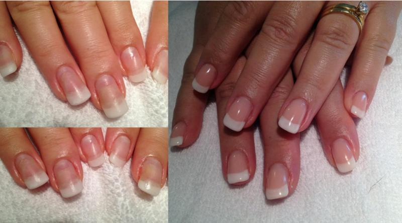 Shellac Acrylic Gel Nails Zurich Before After Emelene