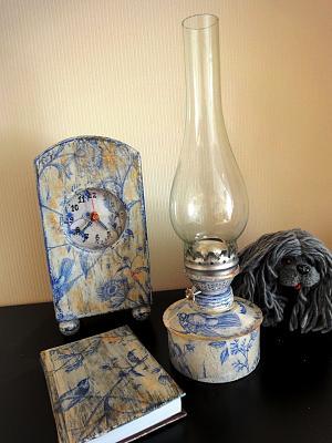 for sale petroleum lampe handmade antique shabby style. Black Bedroom Furniture Sets. Home Design Ideas