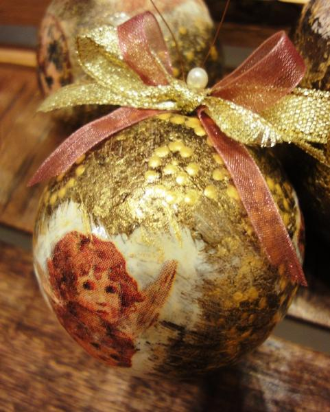 Old style vintage handmade christmas decorations 5 for Handmade decoration pieces