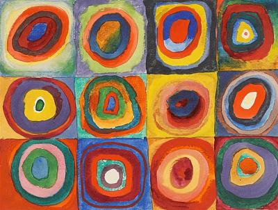affordable-art-custom-made-oil-painting-gift-color-study-squares-concentric-circles.jpg