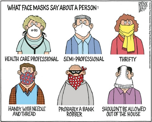 Name:  What a mask says about you.jpg Views: 540 Size:  83.6 KB