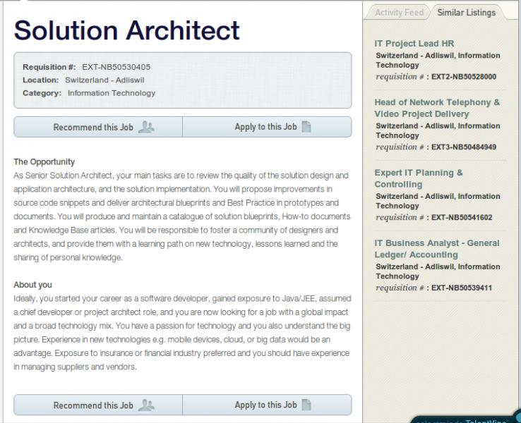 the most effective architect cv examples