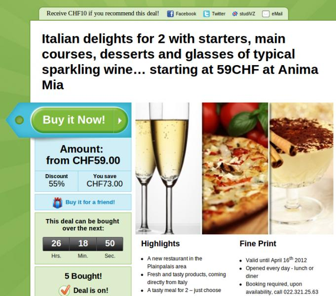 Restaurant In Geneva With 50 Discount Groupon English
