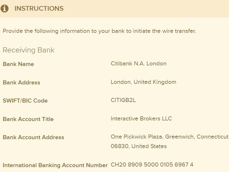 Interactive Brokers account - Page 4 - English Forum Switzerland