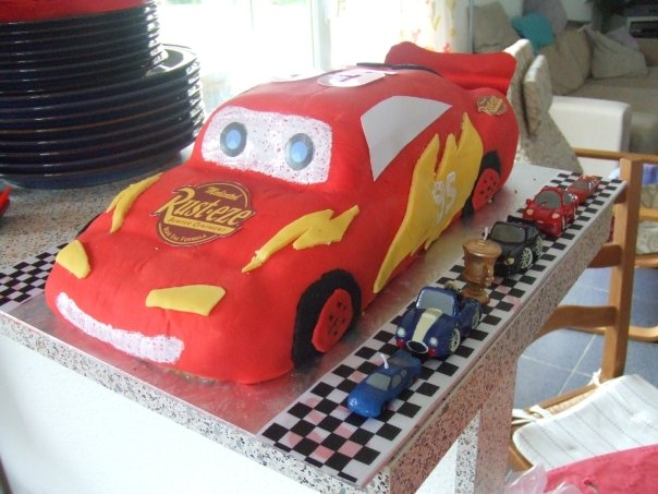 Kids Birthday Cake Ideas Mcqueen