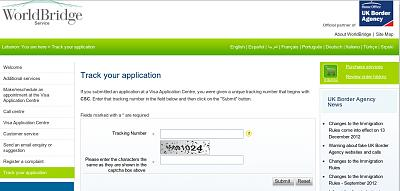 track your uk visa application status