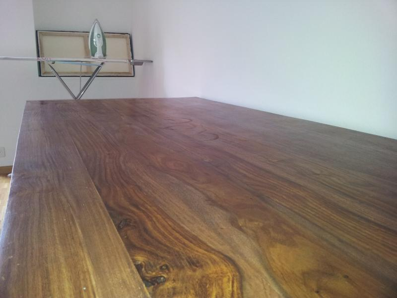 How To Quot Restore Quot A Wood Table Surface Without Sanding Or
