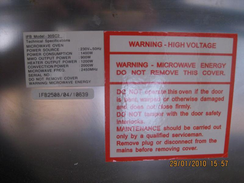 My Microwave Has A 16amps Plug