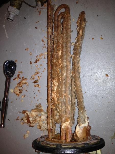 Hot Water Boiler Limescale Build Up English Forum