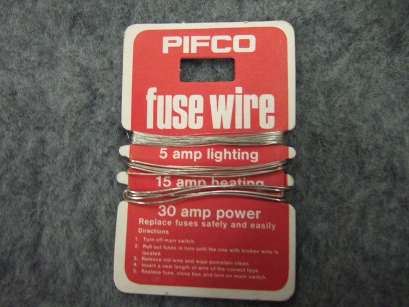 Turning Off Power To A Circuit With Ceramic Fuse