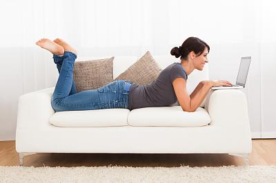 will-trump-good-president-woman-laying-couch-computer.jpg