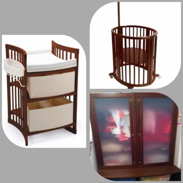 Changing Table For Sale Archive 3 In 1 Cot Changing Table Unit For Sale West Acres Co Za