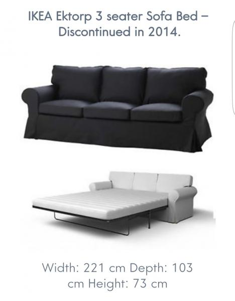 Ektorp Sofa Bed Discontinued