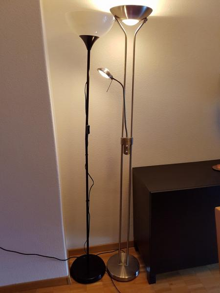For Sale Ikea Mosjo Tv Bank And Micasa Ikea Stand Lamps