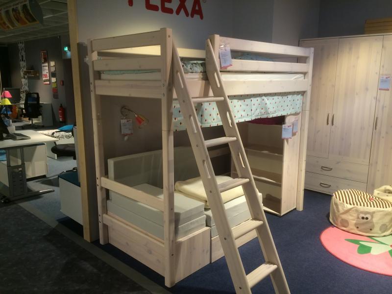 Flexa Kids Bed.Kids Bed Flexa Top Bunk With Couch Underneath English Forum