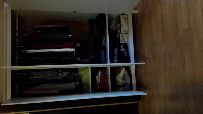 IKEA Brusali closet, Mandal bedframe, and Matrand matress for sale ...