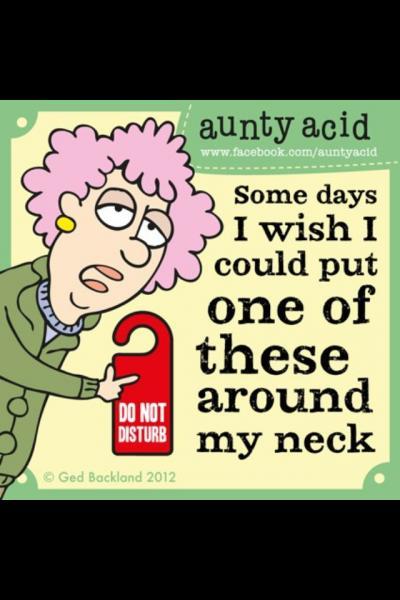 Aunty Acid Jokes