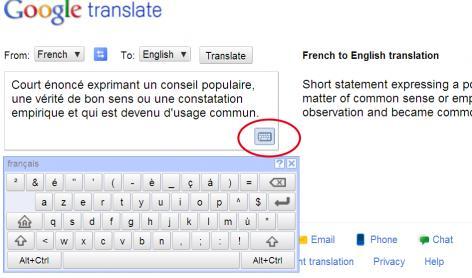 google translate 39 s online virtual keyboard english forum switzerland. Black Bedroom Furniture Sets. Home Design Ideas