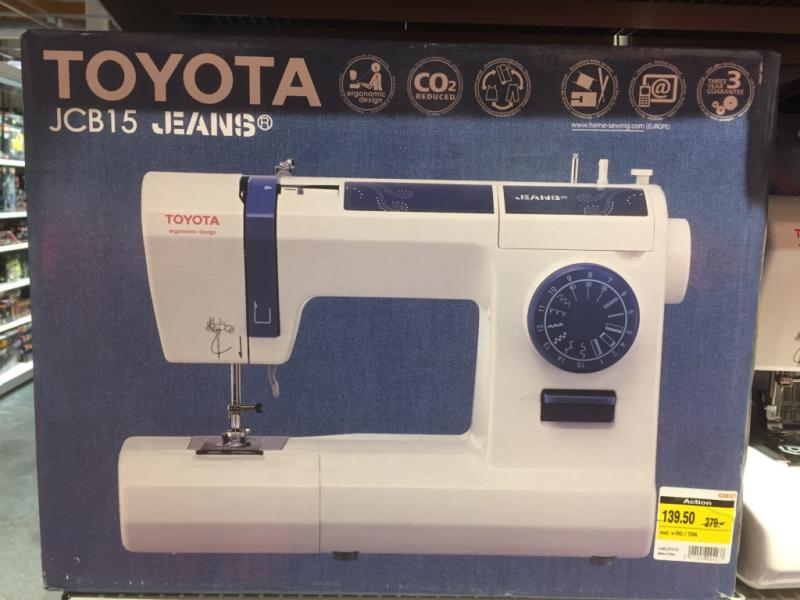 Coop Special On Toyota Sewing Machine English Forum Switzerland Beauteous Toyota Sewing Machine Reviews