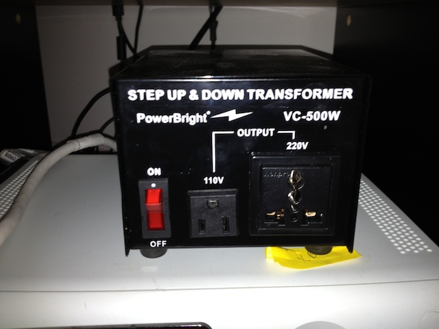 US appliances vs Swiss voltage- a tutorial with pictures! - English ...