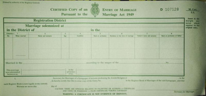 Marriage certificate not available - Page 2 - English Forum Switzerland