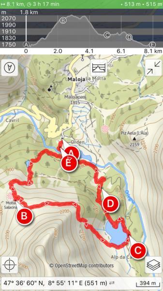 Hiking Apps GPS Based Navigation Onlineoffline English Forum - Navigation map online
