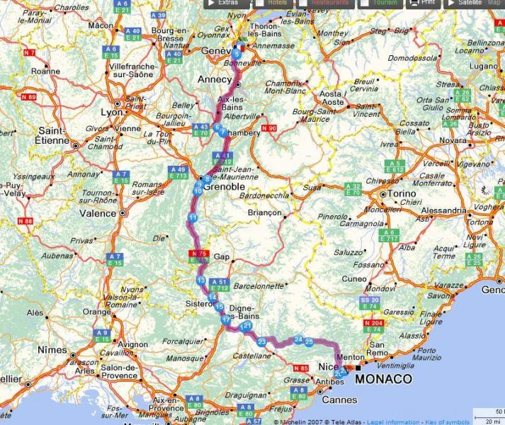 How To Drive From Geneva To Nice In July English Forum Switzerland - France driving distances map