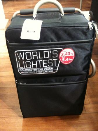 Ultralight suitcases - Manor - English Forum Switzerland