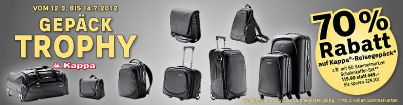 Affordable luggage from Coop ( Trophy Kappa series  # Staubsauger Coop Aktion