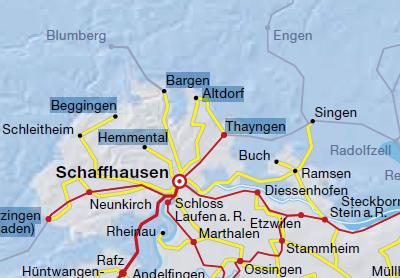 Schaffhausen to Singen by bus English Forum Switzerland