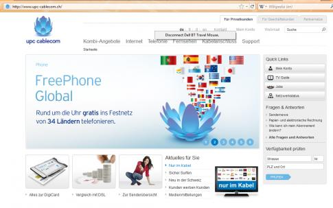 Problem Viewing Www Upc Cablecom Ch From Canada English Forum