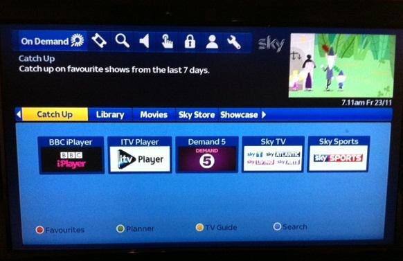 Sky On Demand Internet Geschwindigkeit